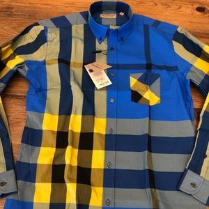 BURBERRY LONDON NEW SEASON MEN SHIRT SIZE L